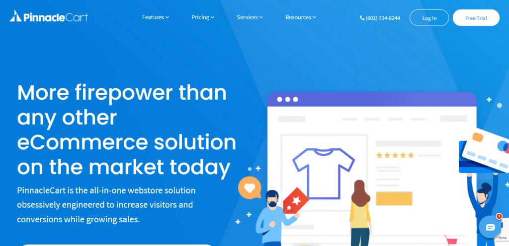 PinnacleCart - Shopify Alternatives