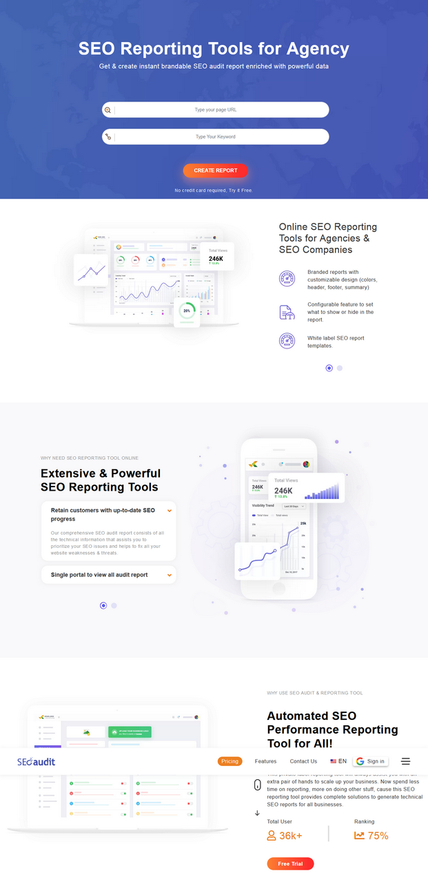 SEO Audit White Label Reports