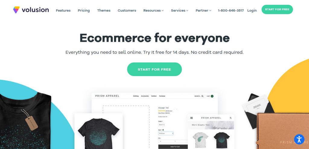 Volusion - Shopify Alternatives