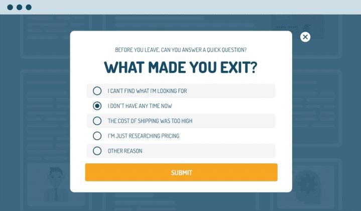 Exit-Intent - Popup - Software