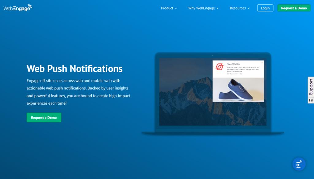 WebEngage - Push - Notification