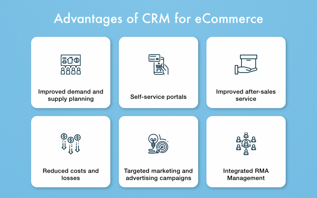 CRM for eCommerce - Benefits