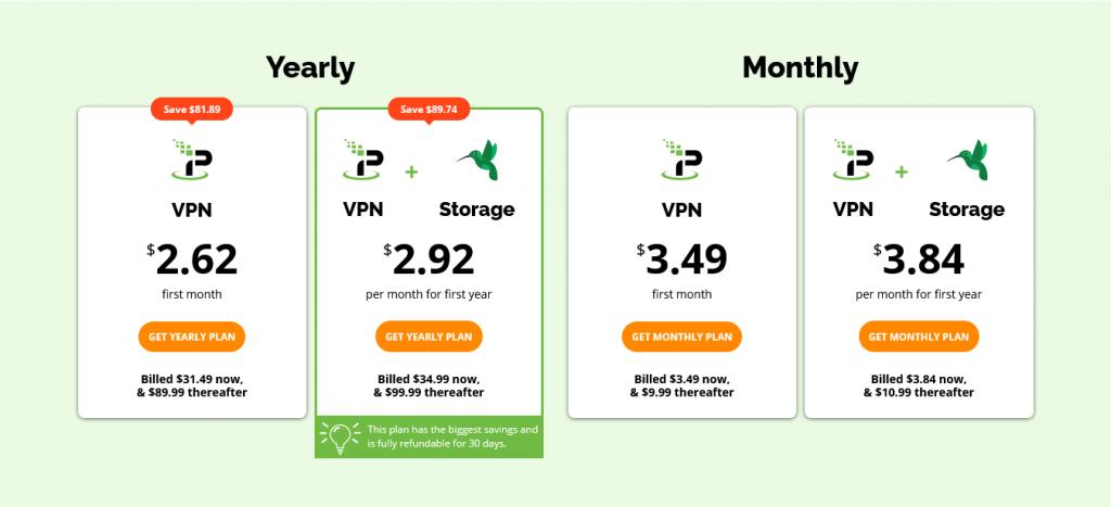IPVanish - Pricing