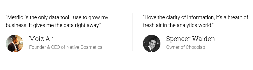 Metrilo Reviews