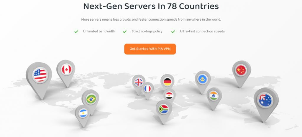 PIA - Servers