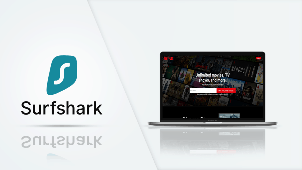 Surfshark - For - Netflix