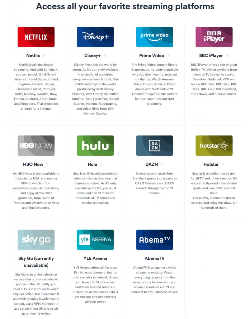 Surfshark-For-Netflix - Streaming-Services