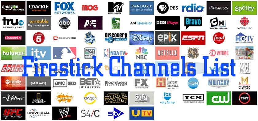 SurfsharkVPN-For-Firestick - Channel-List
