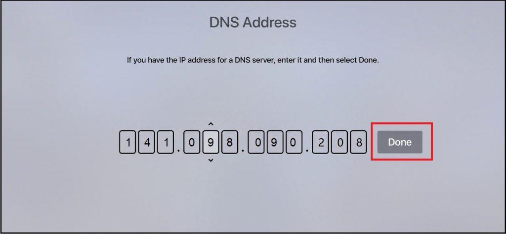 Surfshark-For-Apple-TV - Apply-DNS