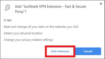 Surfshark-For-Chrome - Add-Extension