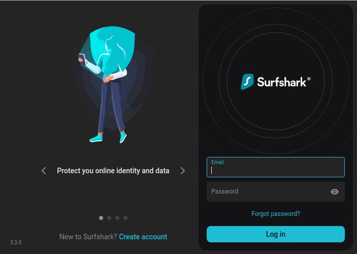 Surfshark-For-Chrome - Login