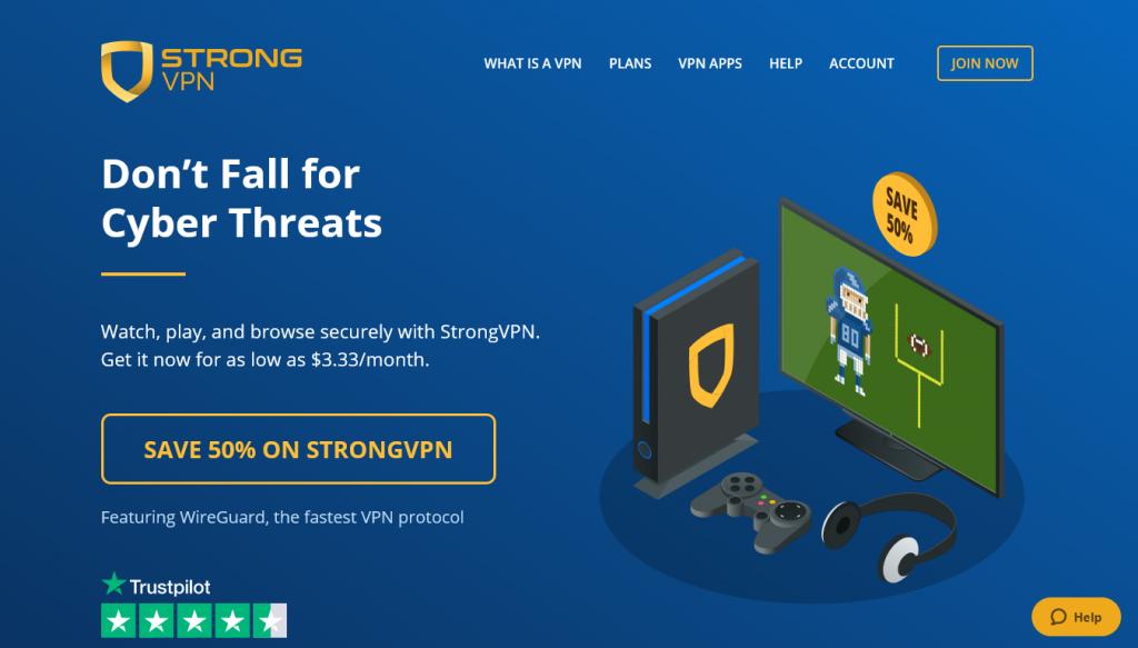 VPN - Deals - StrongVPN